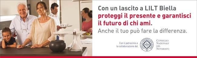 Con un lascito a LILT Biella garantisci il futuro di chi ami