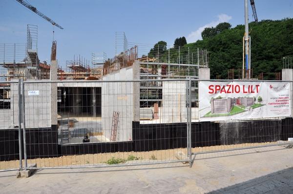 GIUGNO 2012 – aggiornamento LAVORI SPAZIO LILT