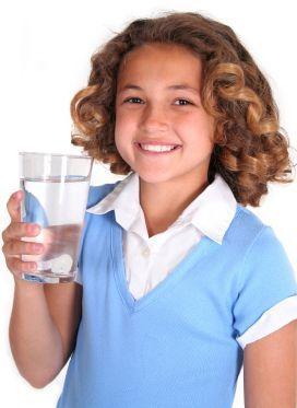 Bambini: i bisogni d'acqua nei più giovani