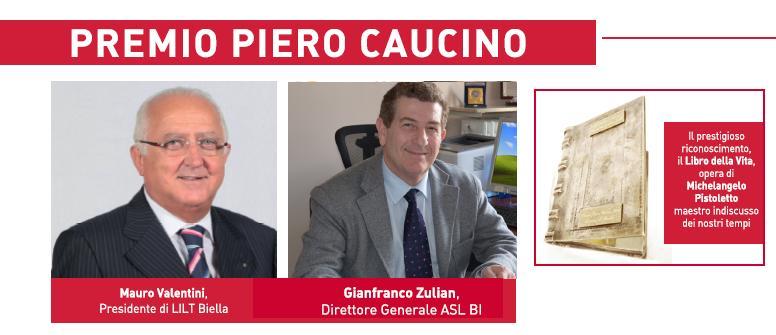 Premio Piero Caucino, questa sera la cerimonia di consegna