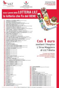 Lotteria Pro Hospice Edizione 2013