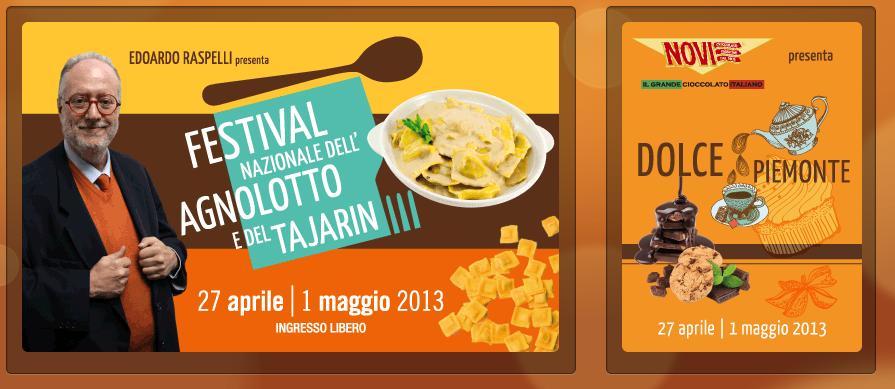 Sabato 27 e Domenica 28 Aprile: LILT Biella al festival dell'agnolotto