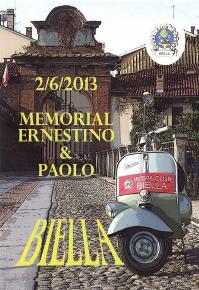 """Domenica 2 Giugno: a spasso per il Biellese sulla Vespa con il Vespa Club e LITLT Biella nel memorial """"Ernestino e Paolo"""""""