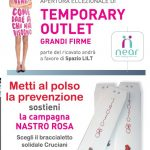 depliant temporary outlet