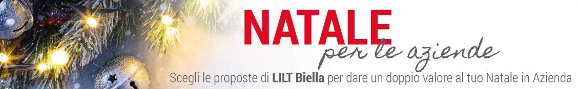 Scopri le proposte di LILT Biella per i regali di Natale 2017 della tua Azienda