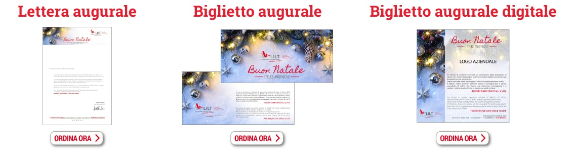 Prodotti Natale con LILT Biella 2017