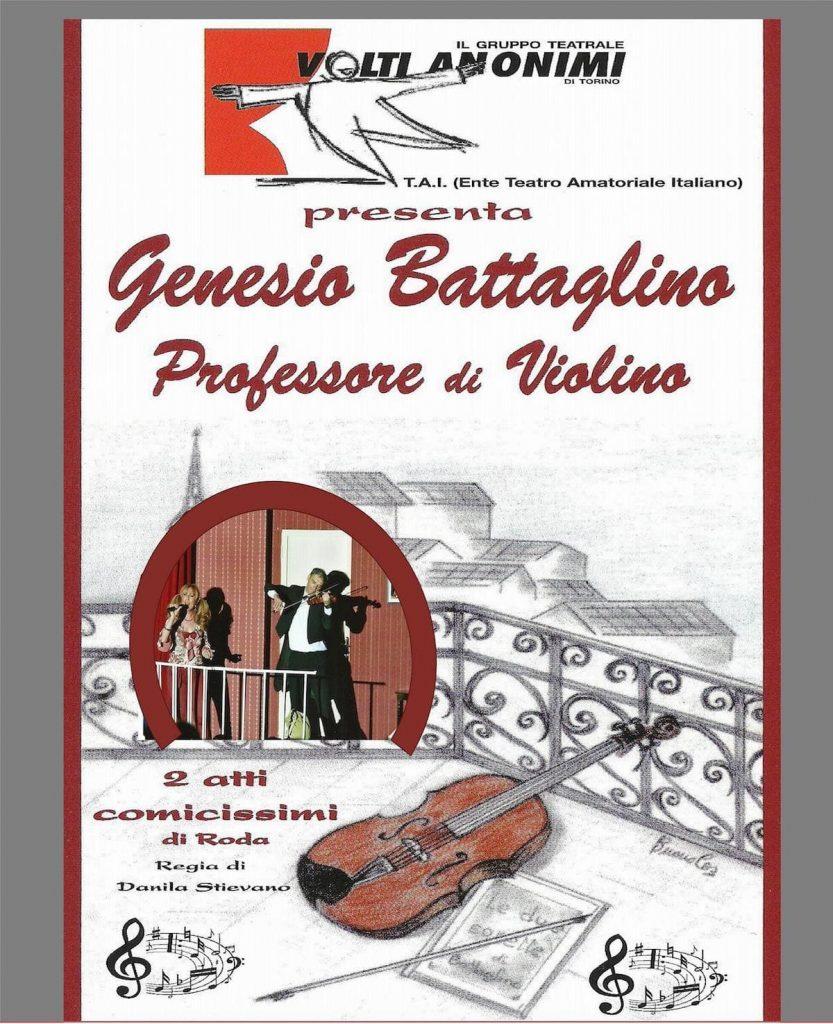 Locandina Genesio Battaglino