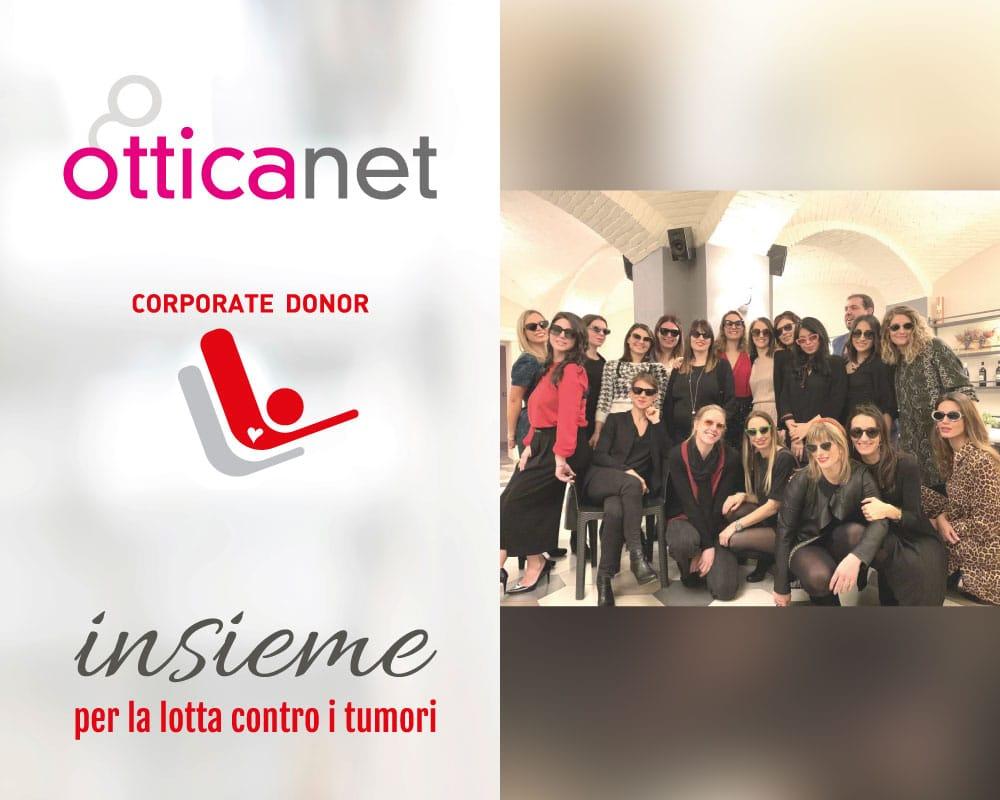 Otticanet sostiene LILT Biella