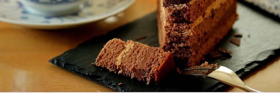 torta pere e cioccolato light
