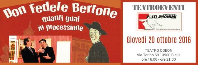 Don Fedele Bertone a Biella