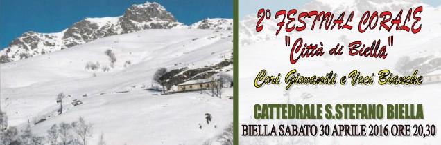 """2° Festival Corale """"Città di Biella"""""""