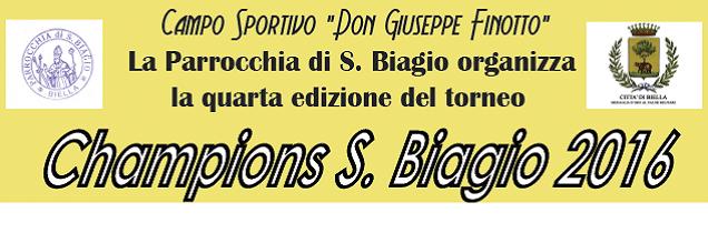 Champions S. Biagio 2016