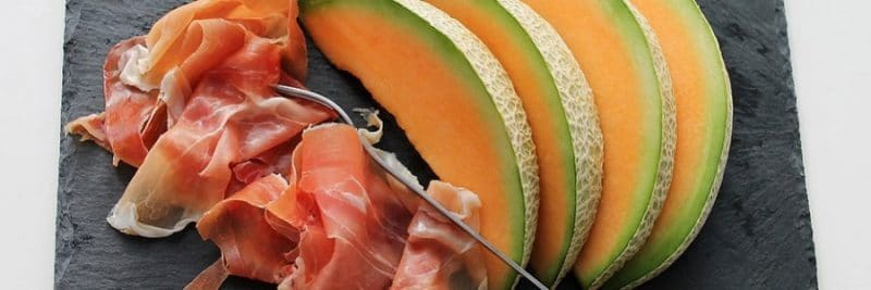 melone e speck