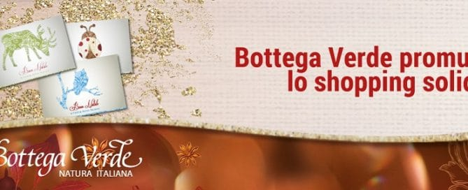 Bottega verde shopping solidale