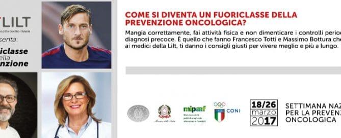 Settimana Nazionale Prevenzione Oncologica marzo 2017