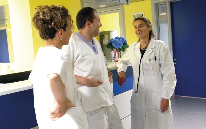 L' equipe dell'Hospice