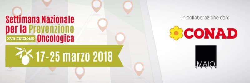 Settimana Nazionale per la Prevenzione Oncologica 2018