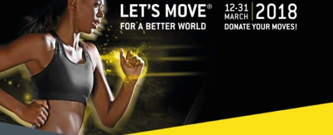 Let's Move for a Better World 2018 con LILT Biella