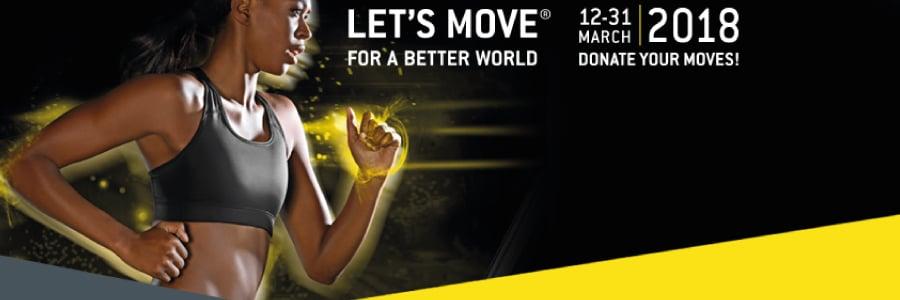 Let's Move for a Better World 2018 con LILT Biella