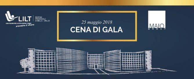 Cena di Gala per LILT Biella 2018