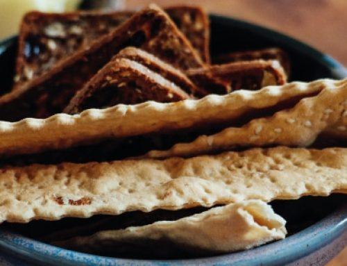Cracker con olio EVO e farina integrale