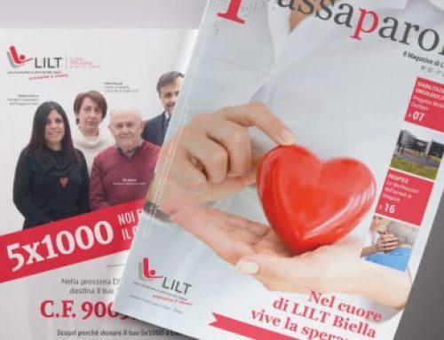 Passaparola: la rivista di dicembre di LILT Biella