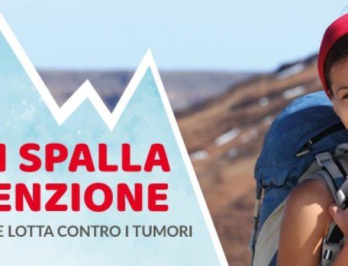 """Prevenzione Oncologica e Solidarietà: sta per partire """"Porta in Spalla la Prevenzione con LILT Biella"""""""