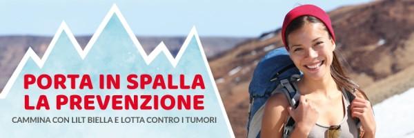 Porta in Spalla la Prevenzione con LILT Biella