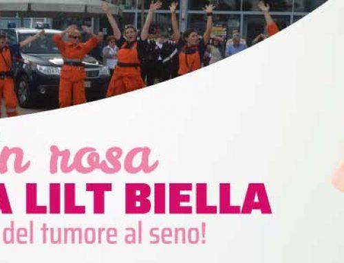 Parata in rosa: le forze dell'ordine e i nuclei di pronto intervento e soccorso scendono in campo al fianco di LILT Biella