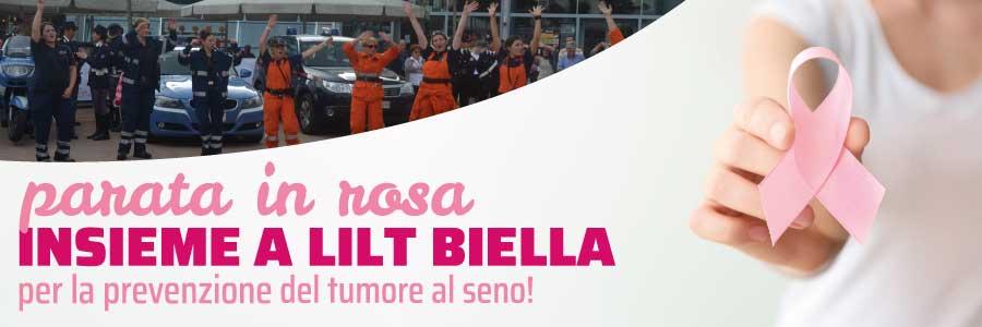 Parata in rosa - LILT Biella